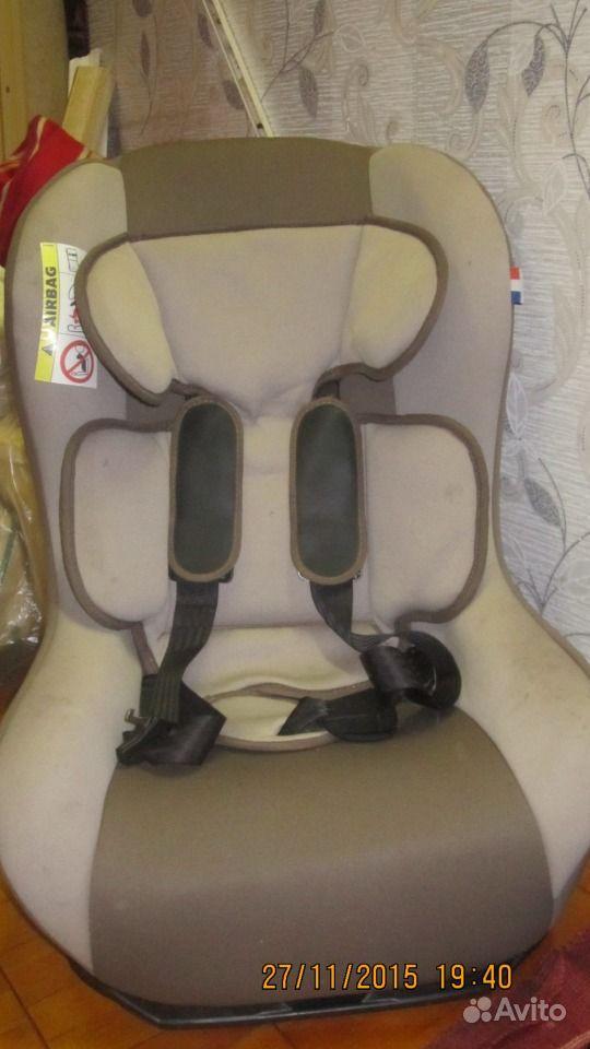Кресло автомобильное детское б/у
