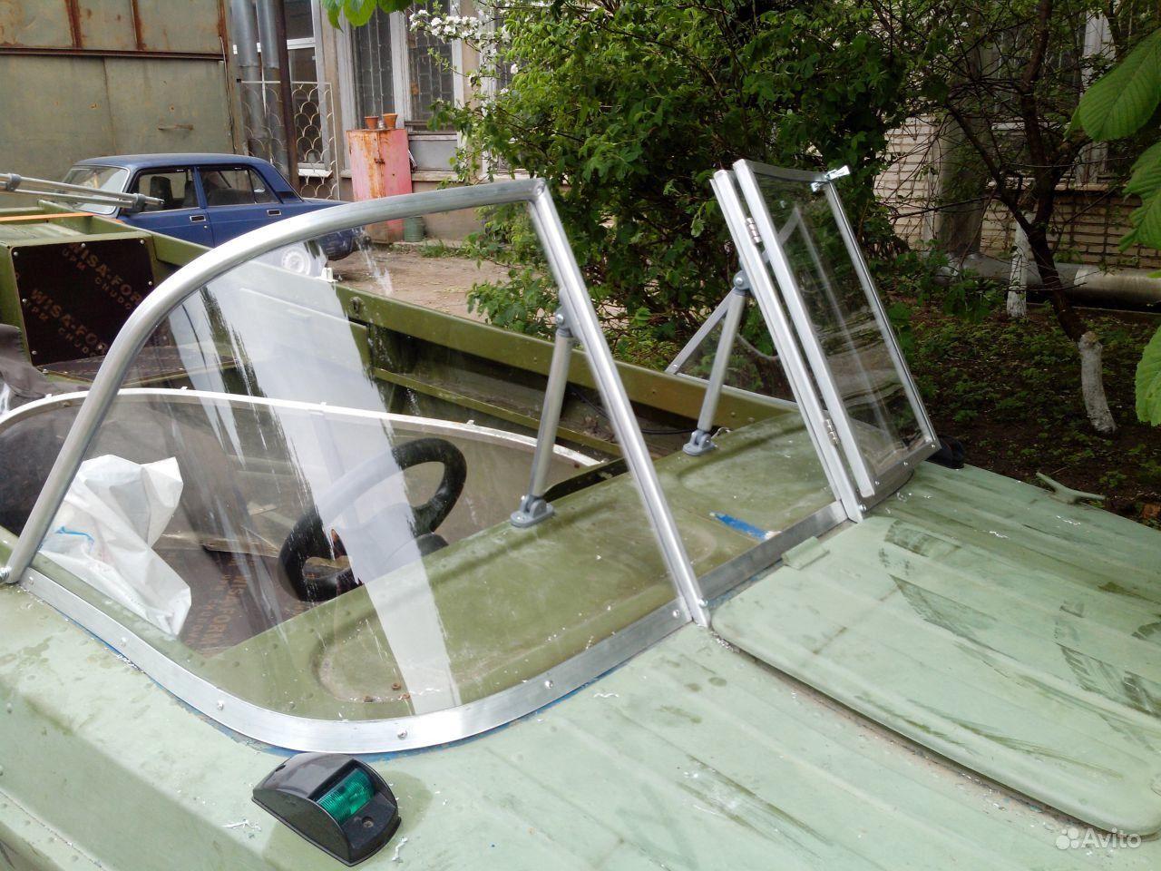 Изготовление стекла для лодки своими руками