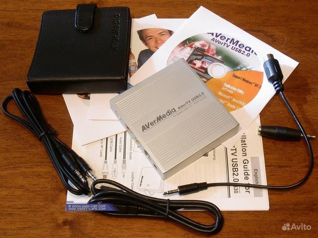 ТВ-тюнер AVerMedia TV USB 2.