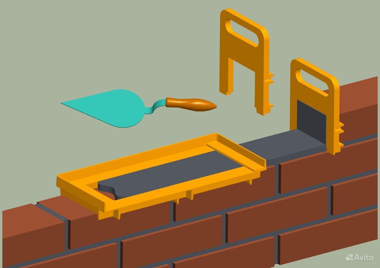 Приспособления для кладки кирпича 2 фотография