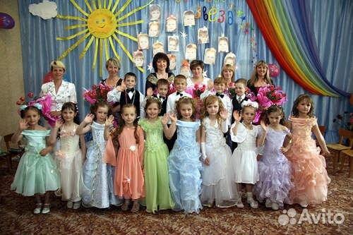 Платье на выпускной в детсад напрокат