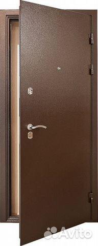 металлические двери эконом класса с установкой в перово