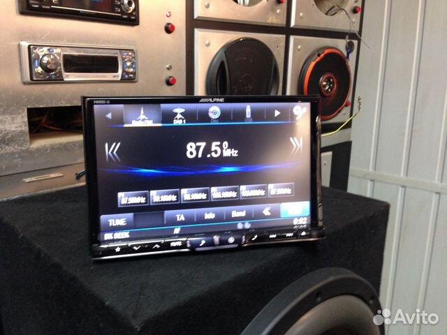Автомагнитола alpine cde-w233r, 4-канал, черный, 1 шт