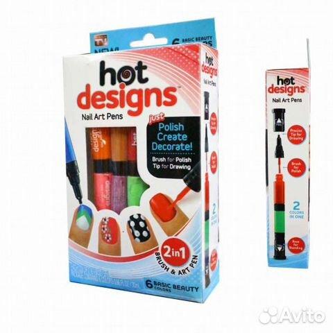 Набор для дизайна ногтей хот дизайн hot