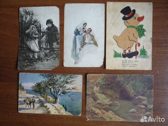 открытки 20 годов: