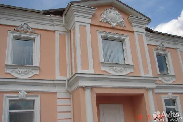 Декор фасадов из бетона