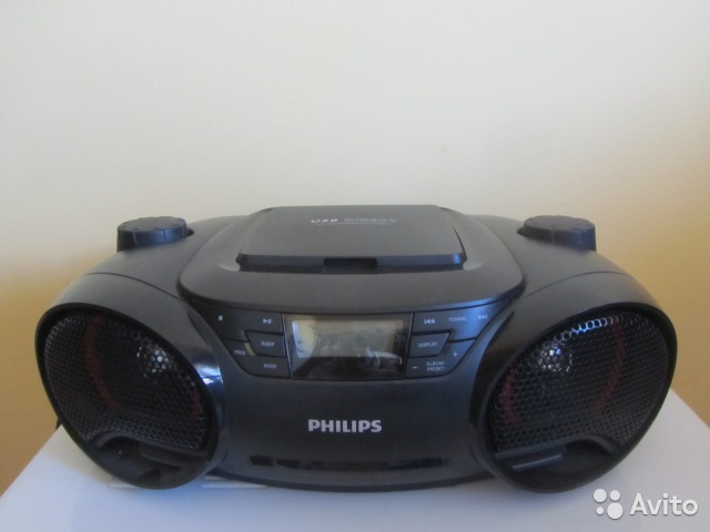 Магнитола Аудио Philips AZ-
