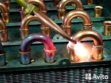 Ремонт радиаторов. трубок