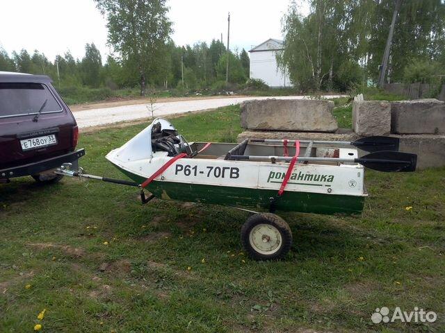 рулевое заведование к лодки романтика