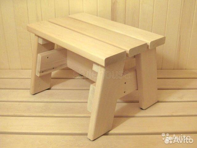 Скамейка для бани из дерева своими руками чертежи