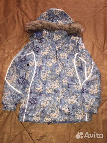 Горнолыжная куртка и штаны для девочки 9-11 лет