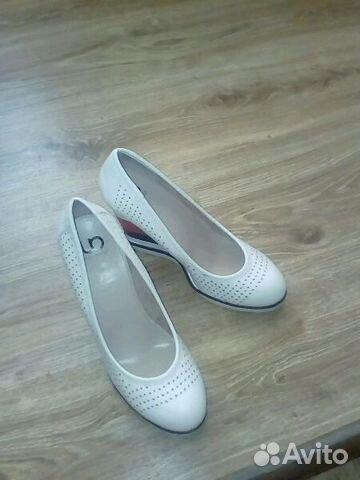 Белые туфли на скале, 38 размер 89271223063 купить 1