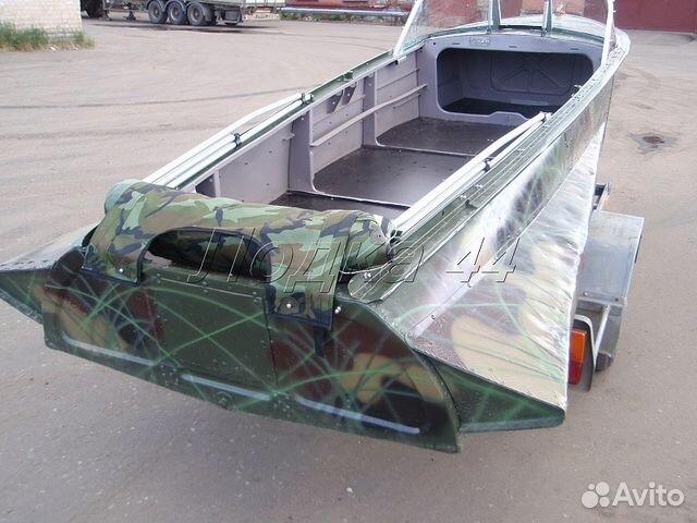 Тюнинг лодки казанка м