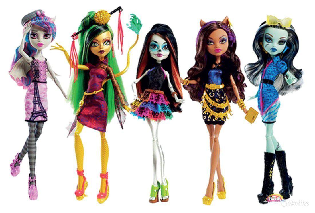 видео монстр хай куклы и их домики