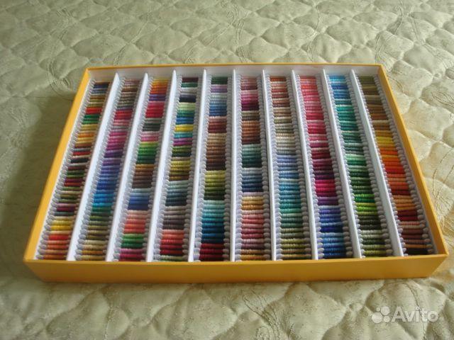 Как разбирать нитки для вышивки