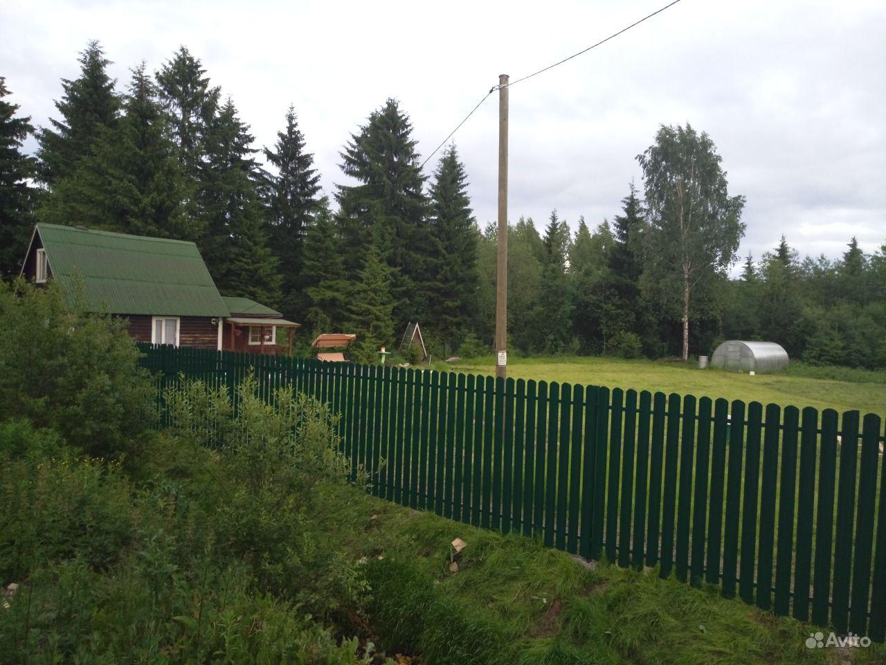 Установка заборов в Ленинградской области купить на Вуёк.ру - фотография № 3