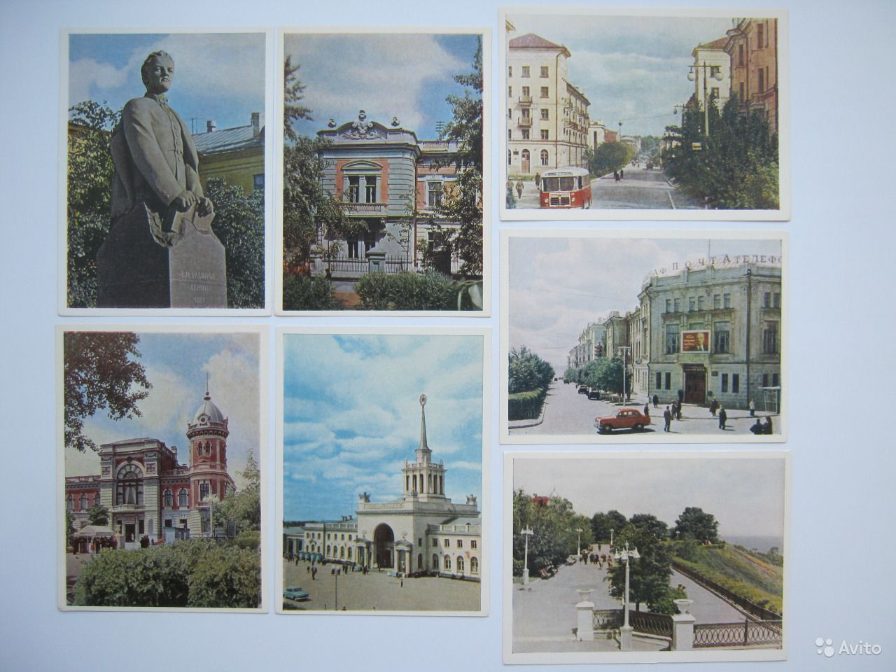 Открытки ульяновского