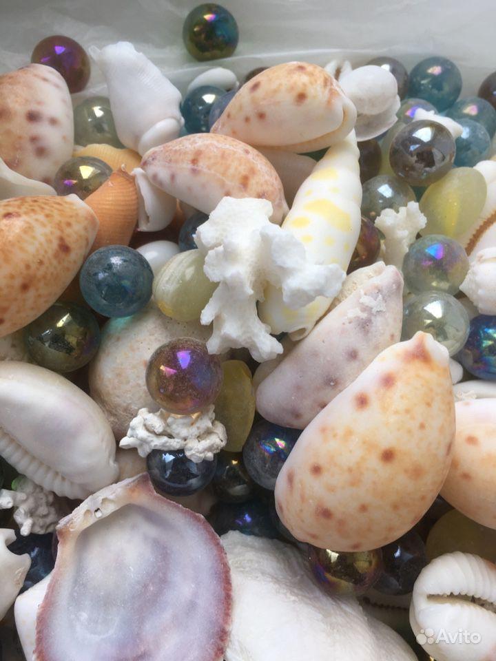 Аквариум- Ракушки для дизайна аквариума, 1,5 кг купить на Зозу.ру - фотография № 3