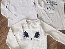 Лонгсливы, свитшоты, водолазка для девочки — Детская одежда и обувь в Саранске