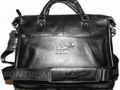 4fc8cef2bd93 Мужская кожаная сумка Montblanc новая стильная A43 190 руб.Москва