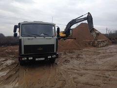 Доставка сыпучих грузов: пгс, щебень, отсев, земля