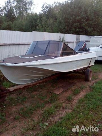 моторные лодки бу в пермский на авито