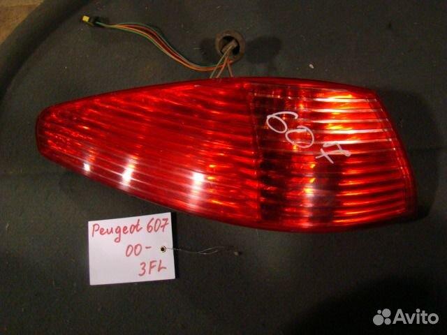 фонарь (задний) peugeot 607