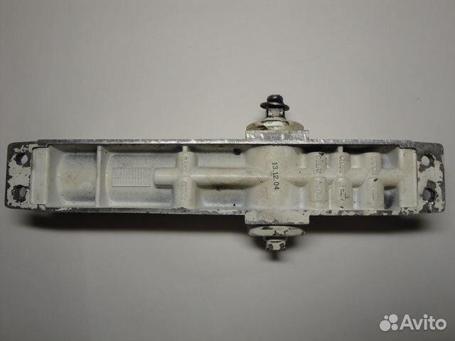 Доводчик дверной Нора-М №2S 50кг Silver 4988