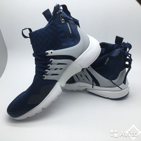 0a6234da Кроссовки. Продам Nike Air Presto Mid синие   Festima.Ru ...