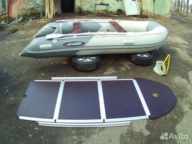 купить лодку гладиатор 370