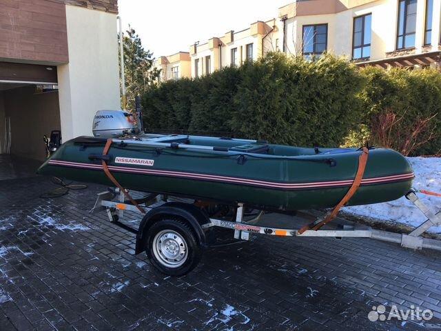 купить лодку пвх ниссамаран на авито