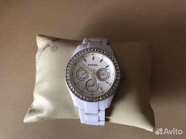 Женские керамические наручные часы Fossil CE1002