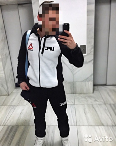 3bad9352 Спортивный костюм Reebok UFC White - Личные вещи, Одежда, обувь, аксессуары  - Санкт-Петербург - Объявления на сайте Авито
