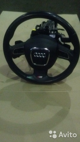Рулевое колесо Ауди 2012г S-Line8P0419091EB8R08802— фотография №1