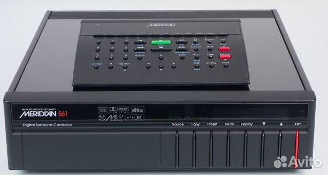 50812cdae3f AV-процессор Meridian 561 Made in Canada