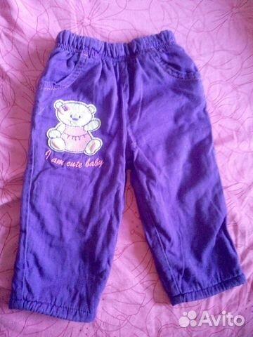 Тепленькие штаники для девочки 89616625652 купить 1