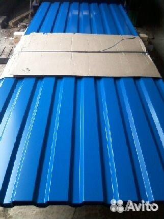 Профилированный лист мп-20 заборный 1100 мм 8017 89200111177 купить 2