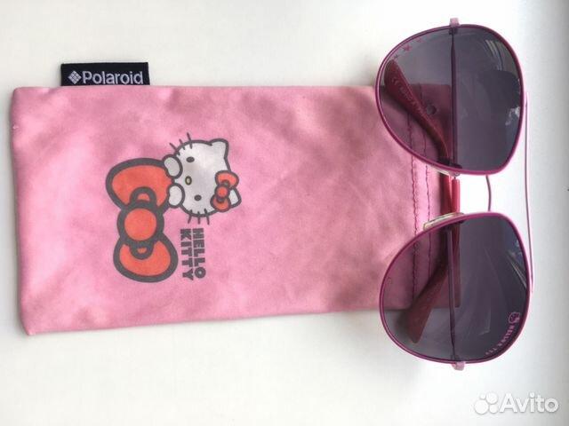Очки солнцезащитные Polaroid Hello Kitty   Festima.Ru - Мониторинг ... 9a53fa47934