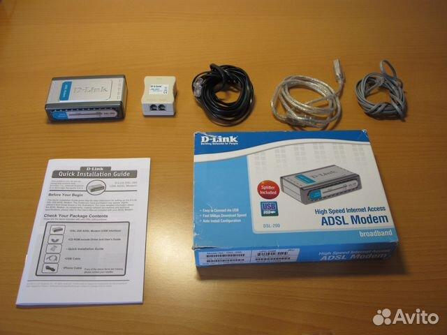 Adsl Модем D-Link DSL-200 89517017492 купить 1