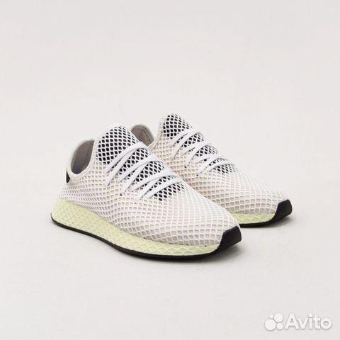 fb006c21 Adidas Deerupt Runner Chalk White/Core Black | Festima.Ru ...