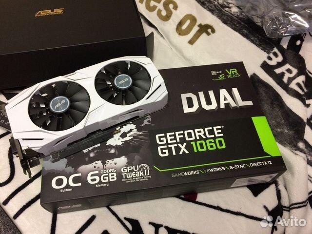 Asus gtx 1060 dual 6gb