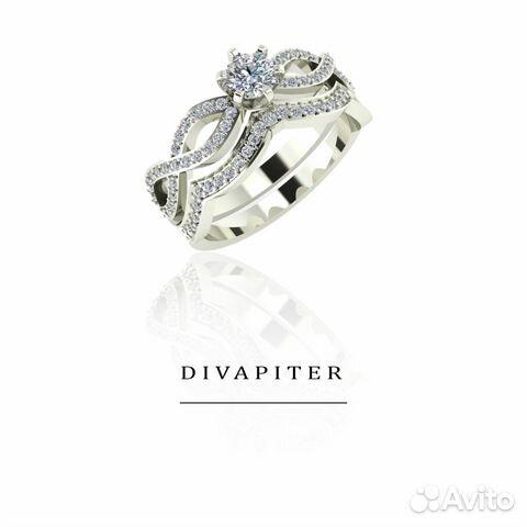 Комплект колец обручальное и помолвочные кольца купить в Санкт ... 1f31daca975