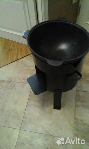 Печь на дровах на 16 литр казан 89894547797 купить 1