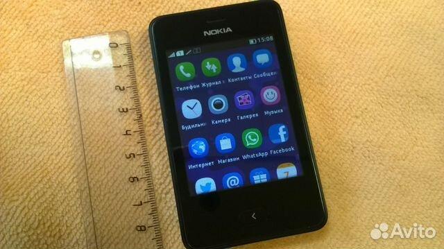 445c0c308a1 Смартфон Nokia Asha 501 Black