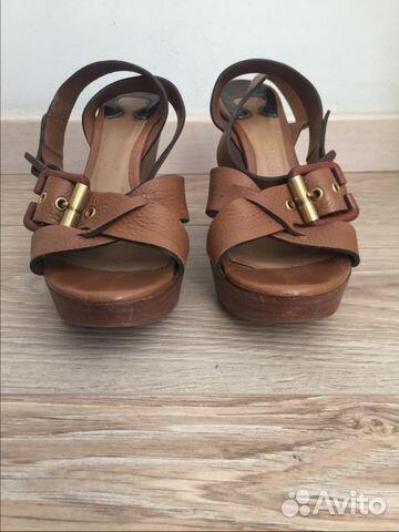 fe1f406ae59a Кожаные босоножки Chloe купить в Самарской области на Avito ...