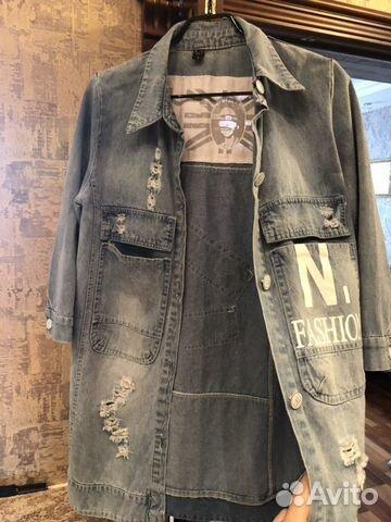 Куртка джинсовая 89021703087 купить 4