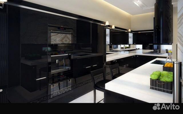 Кухня в стеле Арт Деко