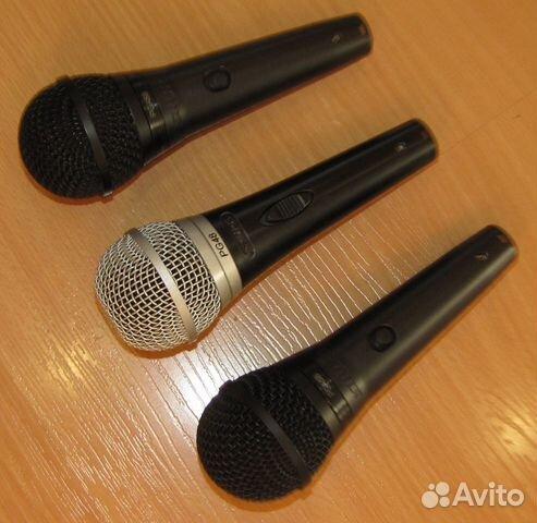 Проф вокальные микрофоны Shure PG48 - 58 3шт новые 89128899109 купить 8