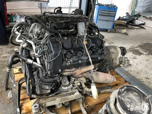 Двигатель N62B48 4.8л на BMW 7-Series