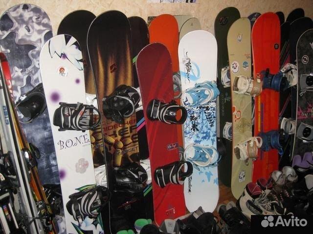 Сноуборды, более 100 комплектов в наличии